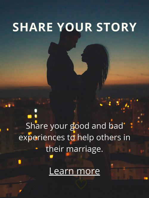 Share your marriage story