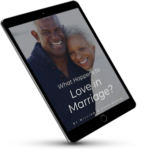 What happens to love in marriage